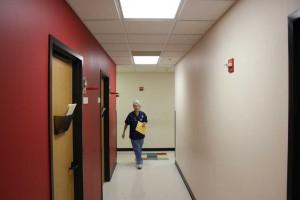 clinic-hallway